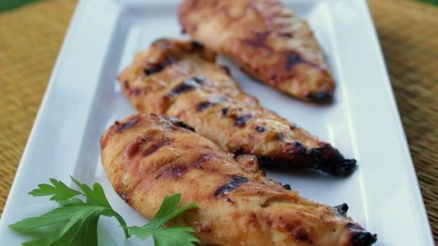 mézes mustáros csirkemell grill