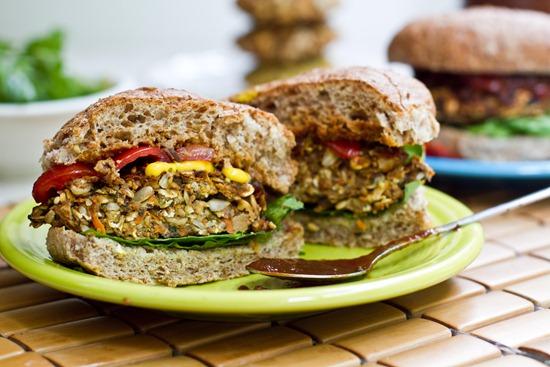 zöldségburger