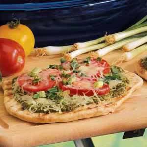 grill pizza