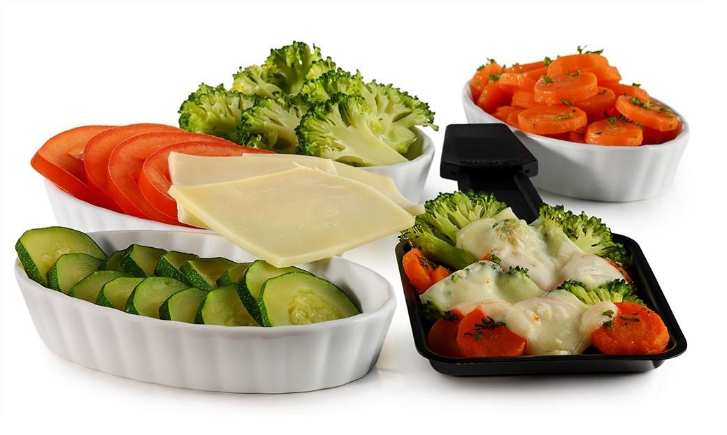 vegetáriánus raclette