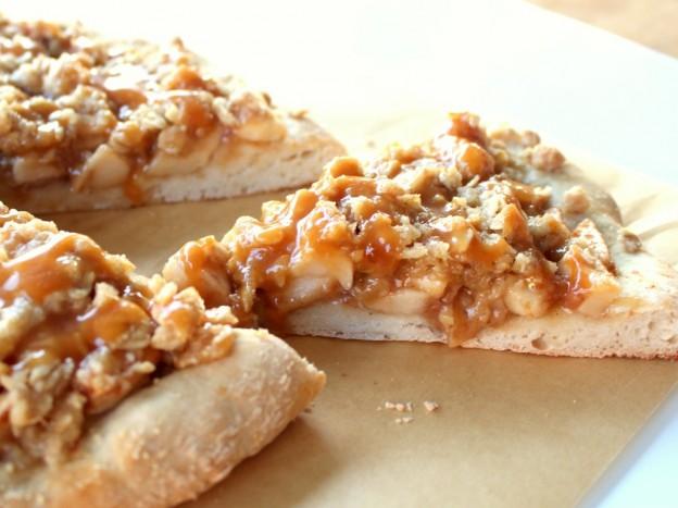 desszert pizza