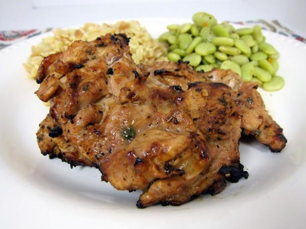 grill mustáros csirkecomb