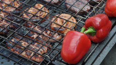 grillezés hőségben