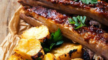 grillezett marhahús, marhaoldalas