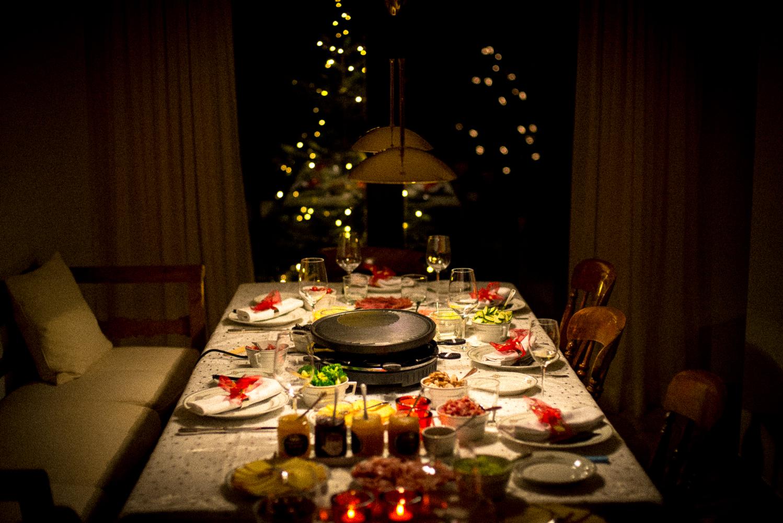 raclette grill karácsonykor