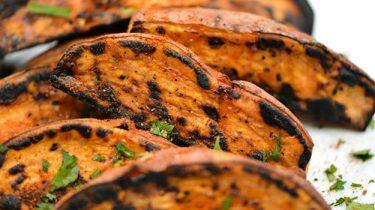 grillezett köret édeburgonya