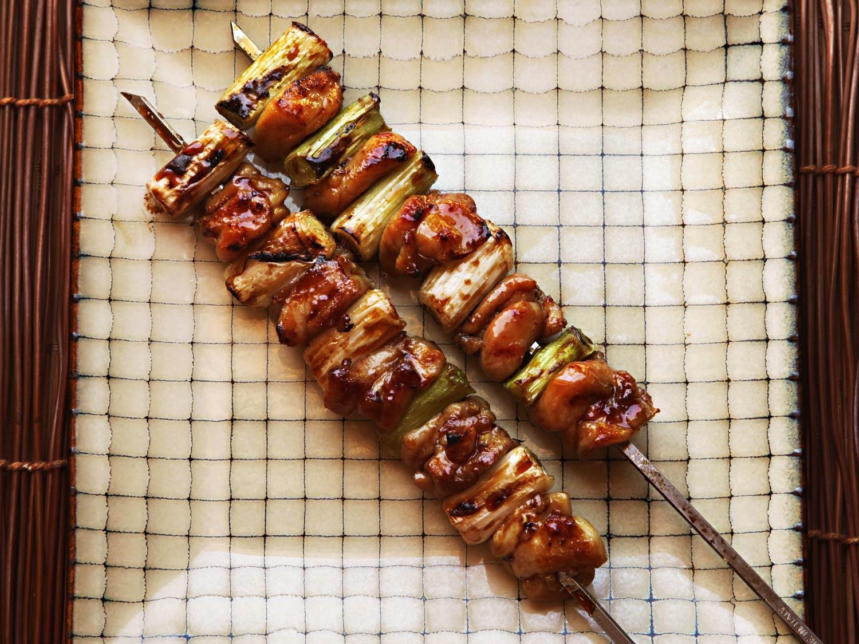 japán csirkenyárs grill recept