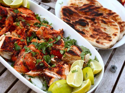 tandoori csirke grill
