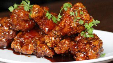 grillezett csirkeszárny
